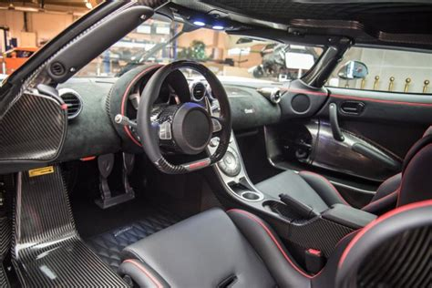 koenigsegg one 1 interior sole koenigsegg one 1 headed to u s lands in monterey