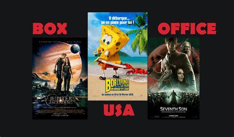 Box Office Usa box office usa bob l eponge deux fois plus fort que