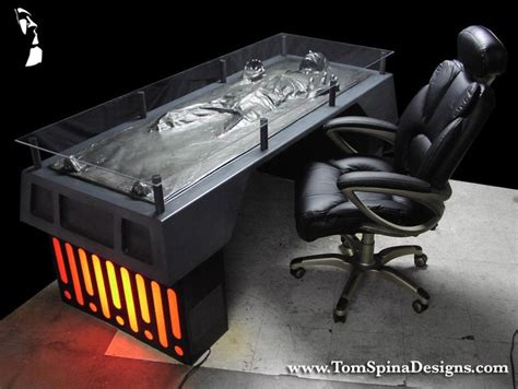 Han Frozen In Carbonite Desk han in carbonite desk is for hutts with a day