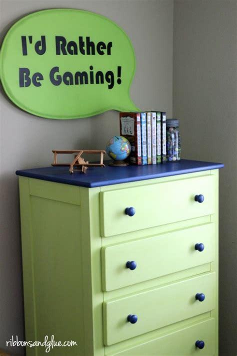 boys bedroom dresser tween dresser makeover