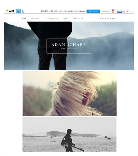 templates for wix 46 best wix themes templates free premium templates