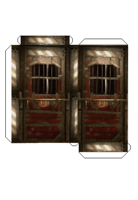 Minecraft Papercraft Door - the gallery for gt minecraft papercraft door