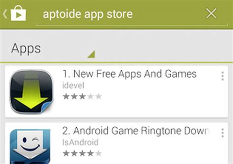 aptoide google play google is abusing its play power says third party android