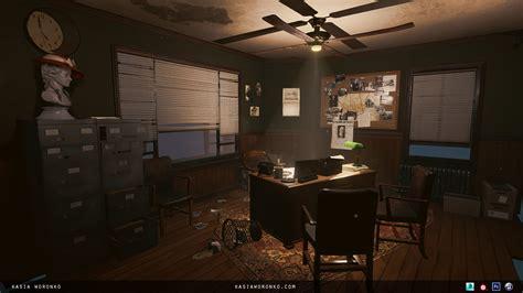 artstation detective office kasia woronko