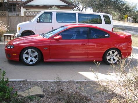 buy car manuals 2004 pontiac gto seat position control sell used 2004 pontiac gto 5 7 liter 6 speed manual torch red in corpus christi texas united