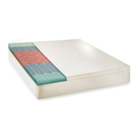 bed bath beyond mattress topper buy memory foam toppers from bed bath beyond