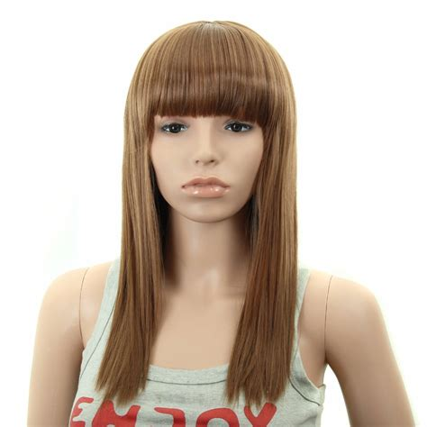cheap synthetic wigs for women made of high quality heat 20 quot cheap american wigs women ladies synthetic long