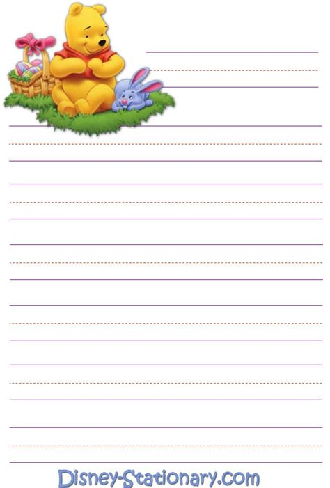 printable disney writing paper 254 best stationary images on pinterest writing paper