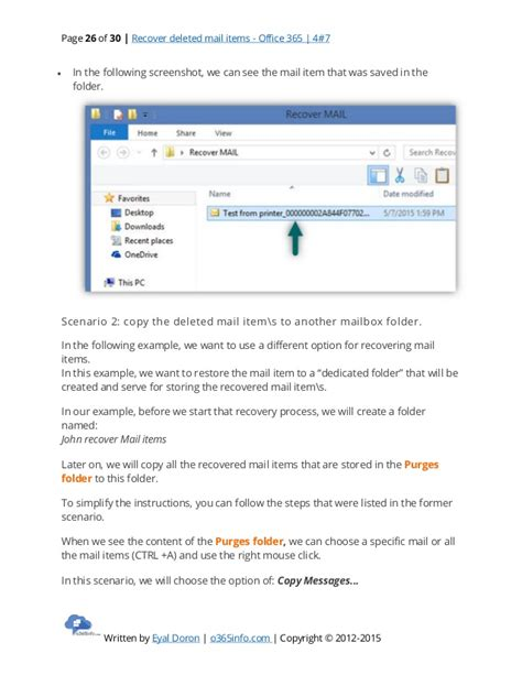 Office 365 Portal Recover Deleted Items Recover Deleted Mail Items Office 365 4 7