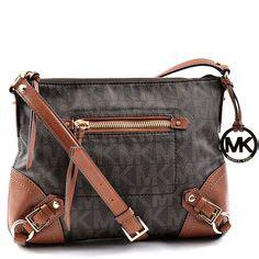 Mk Fallon M Messenger authentic designer handbags on name brand