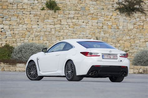 lexus rcf white essai lexus rc f les watts sans les batteries photo