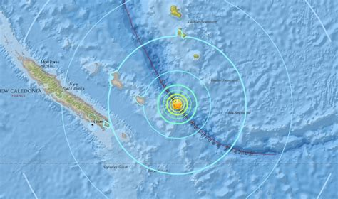 Earthquake New Caledonia | m6 8 earthquake hits new caledonia on oct 31 2017