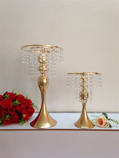 wedding centerpiece vase 33cm 13 quot small size gold wedding flower vase wedding