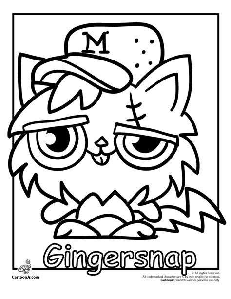 moshi monsters coloring pages to print az coloring pages