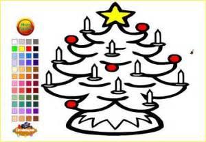 imagenes de navidad para colorear online 5 dibujos de navidad para colorear online paperblog