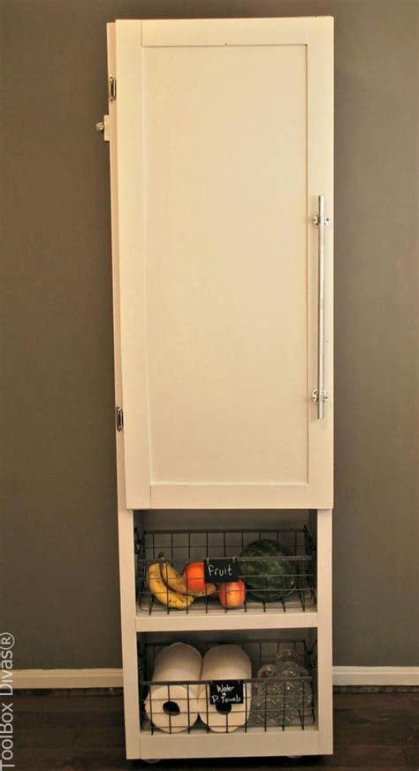 diy mobile pantry cabinet toolbox divas pantry cabinet