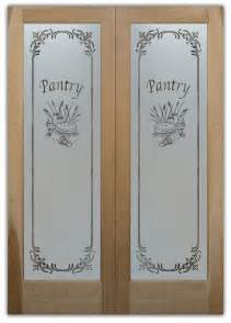 Pantry Doors With Etched Glass by Frosted Glass Pantry Doors Sans Soucie Glass
