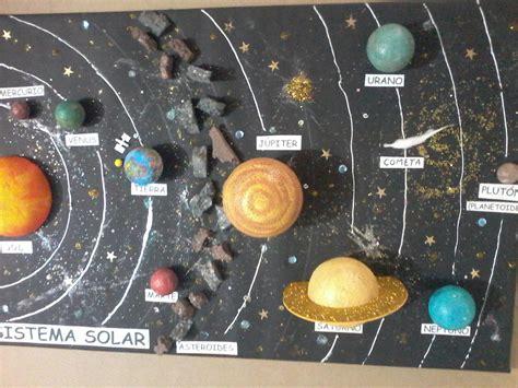 fotos del sistema solar maqueta sistema solar tolo dibujos y maquetas escolares
