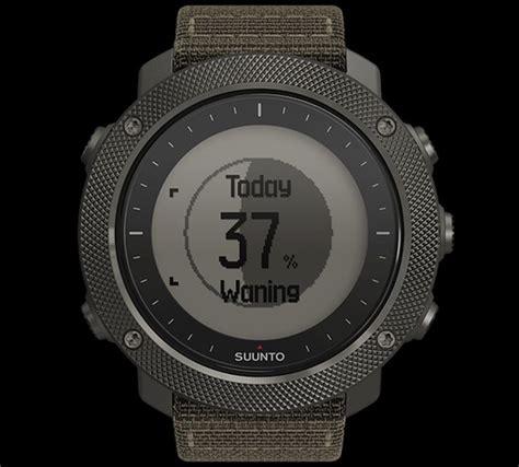 Suunto Traverse Alpha Foliage Original Black Rubber Suunto suunto unveils new traverse alpha watches for fishing and