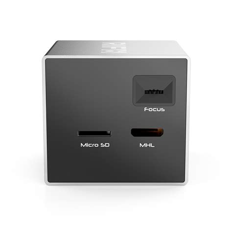 Proyektor Rif6 Cube cube mobile projector rif6 touch of modern