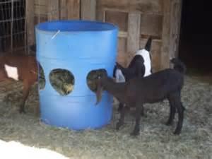 Hay In The Barn Alfa Img Showing Gt Homemade Hay Feeders