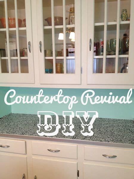 Preformed Countertops Without Backsplash Diy Countertop Revival Countertops New New And Contact