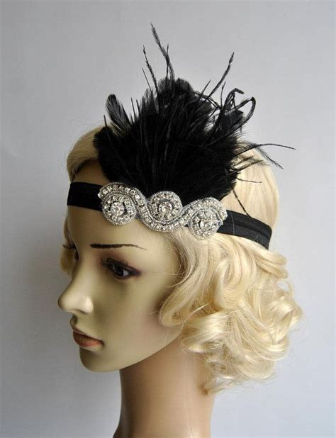 gatsby headpieces the great gatsby 20 s flapper headpiece vintage inspired