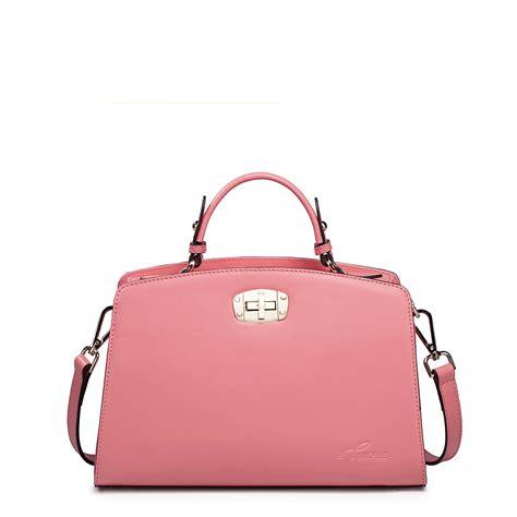 Bag For Pink nucelle leather handbag pink