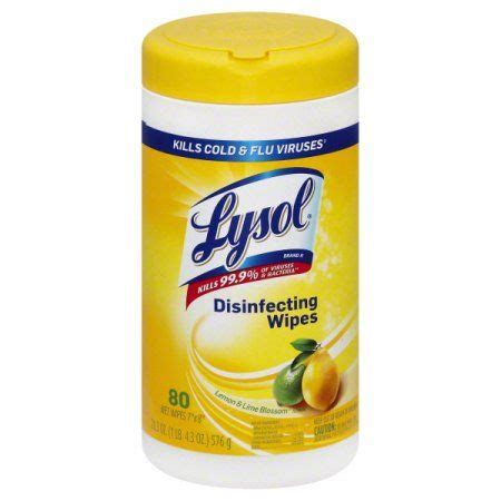 lysol disinfecting wipes lemon  lime blossom  count walmartcom disinfecting wipes