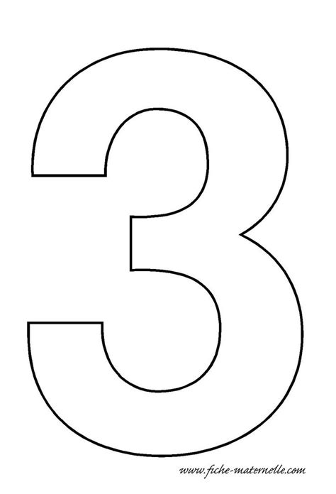 number 3 template crafts actvities and worksheets for preschool toddler and