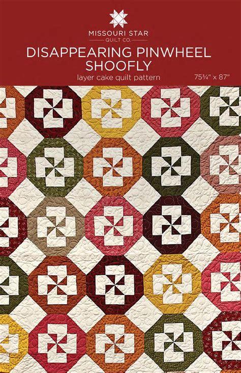 Quilt Pattern Disappearing Pinwheel | digital download disappearing pinwheel shoofly quilt