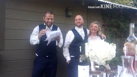 Older brothers Best Man speech @ younger brothers wedding