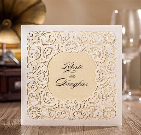 Aliexpress.com : Buy Luxury White Laser Cut Wedding