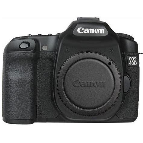 canon 40d canon eos 40d slr digital 1901b004 b h