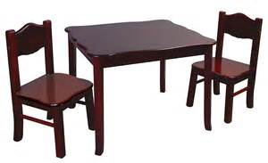 Table And Chair Sets Guidecraft Classic Espresso Table And Chairs Set G86202