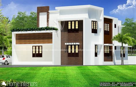 2813 sq ft 4 bhk modern home kerala home design and floor plans 2000 square floor 4 bhk contemporary home design