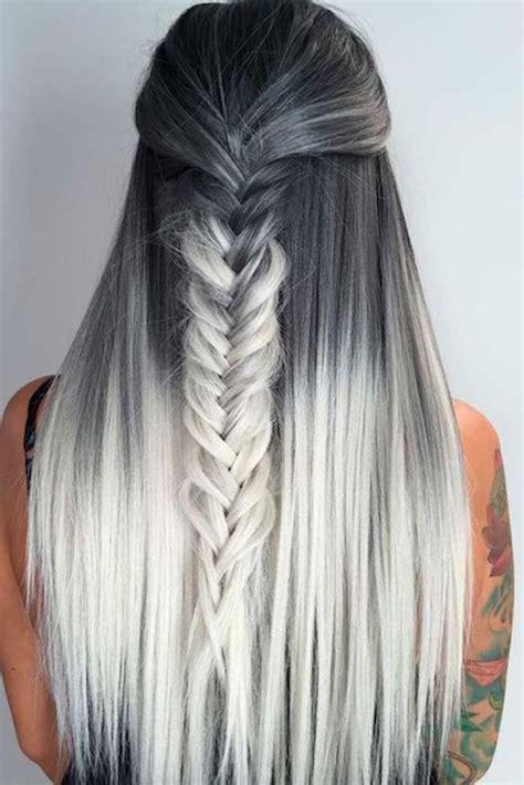 Ombre Look Grau by 1001 Ideen F 252 R Ombre Blond Frisuren Top Trends F 252 R Den