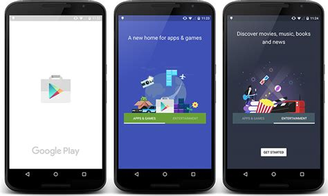 play store new new play store update will split app and media