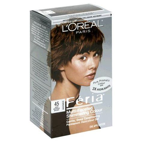 feria de loreal hair color chart feria french roast 45 haircolor 1 ct more info could