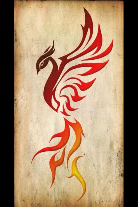 phoenix tattoo red collection of 25 tribal red phoenix tattoo design