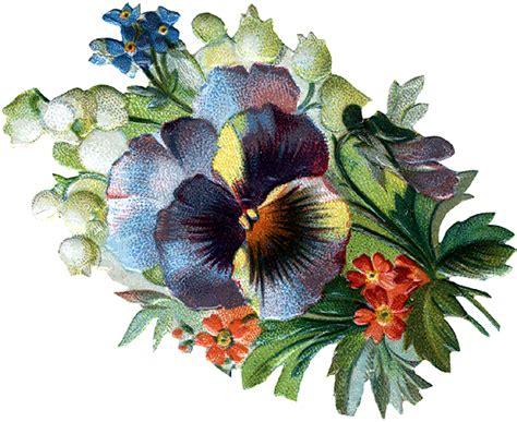 flowers gardens kadens vintage clip art studio