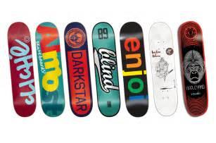 skatebord decks choosing your skateboard deck sidewalk basic