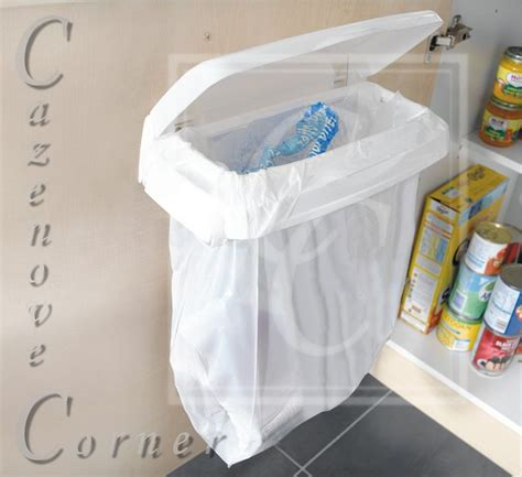 Kitchen Cabinet Liner Carrier Bag Bin Holder For Kitchen Cupboard Door Garage