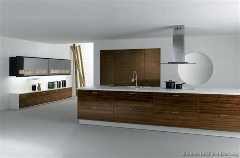 Two Tone Kitchen Cabinet Ideas Pictures Of Kitchens Modern Dark Wood Kitchens Page 3
