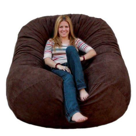 cozy sack 4 bean bag chair large navy cozy sack 6 bean bag chair large chocolate cozy