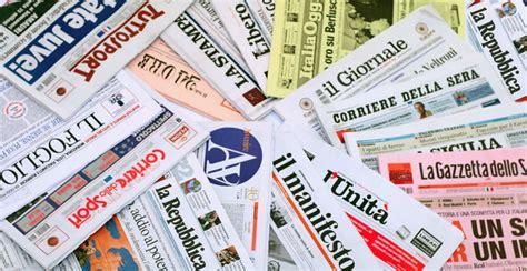 testate giornalistiche italiane editoria m5s quot via finanziamenti pubblici ai giornali si