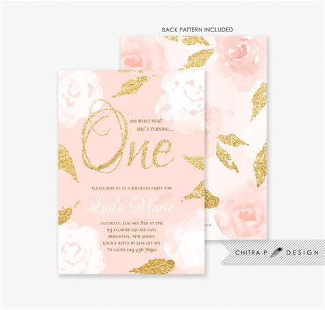 gold and pink flower cards template pink and gold invitations templates retro background roses