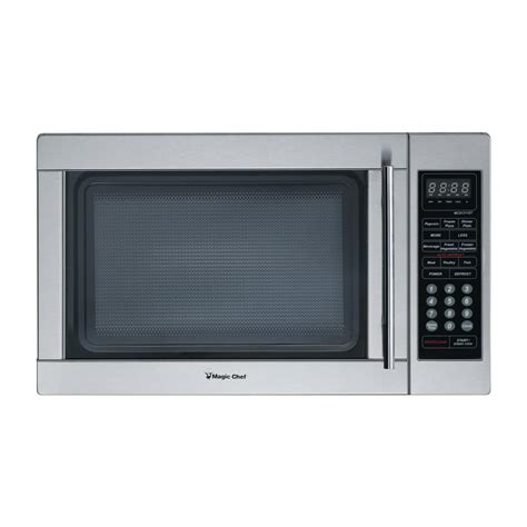 Magic Chef Countertop Microwave by Magic Chef 1 3 Cu Ft Countertop Microwave In Stainless