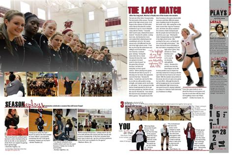 yearbook layout exles vision whitewater high school fayetteville ga