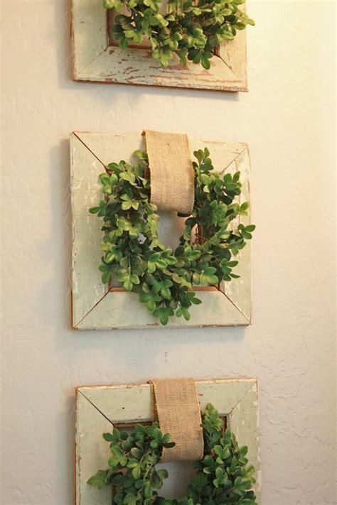 wreath wall decor 17 best ideas about burlap wall decor on